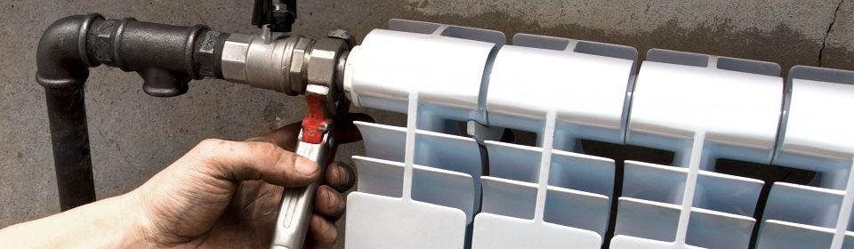 Aansluiten radiator