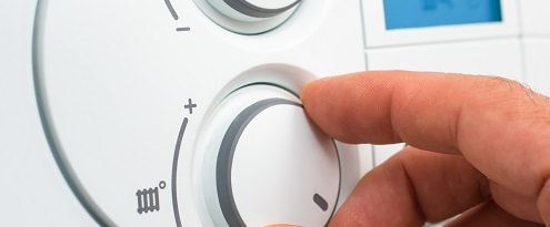 Aandraaien thermostaat